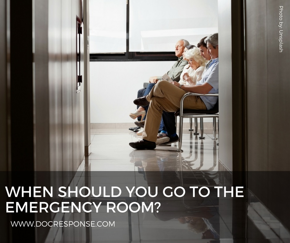 When Should You Go To The Emergency Room - DocResponse: Clinical ...
